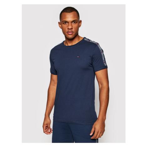 Tommy Hilfiger T-Shirt UM0UM00562 Granatowy Regular Fit