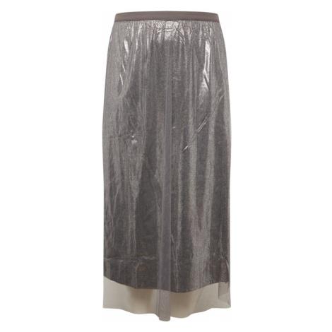 MAMALICIOUS Spódnica srebrny Mama Licious