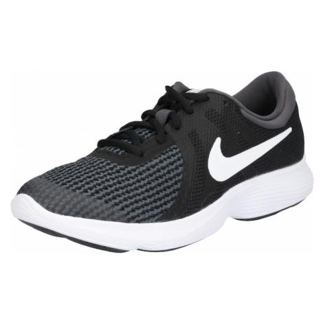 NIKE Buty sportowe 'Revolution 4 (GS)' czarny / biały