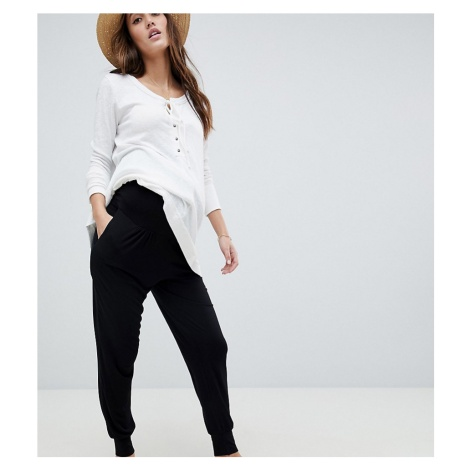 ASOS DESIGN Maternity ultimate jersey harem trousers with bump band