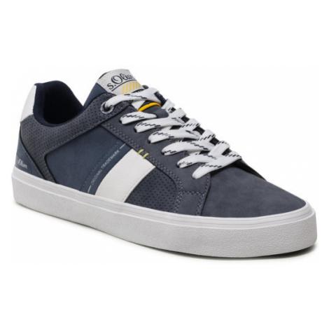 S.Oliver Sneakersy 5-13600-36 Granatowy