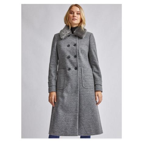 Dorothy Perkins Grey Coat