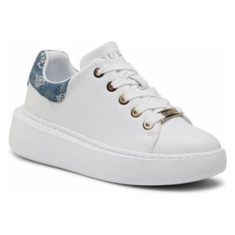 Guess Sneakersy Bradly FL6B2R DEN12 Biały