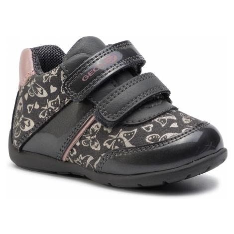 Sneakersy GEOX - B Elthan G. B B941QB 0AFHI C0952 Dk Grey/Pink