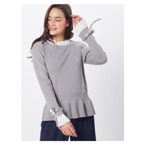NEW LOOK Sweter 'PIE CRUST' jasnoszary