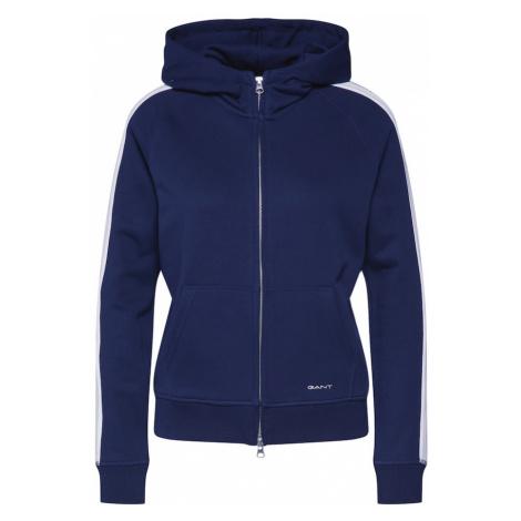 GANT Bluza rozpinana beżowy / ciemny niebieski