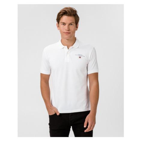 Napapijri Elbas 3 Polo Koszulka Biały