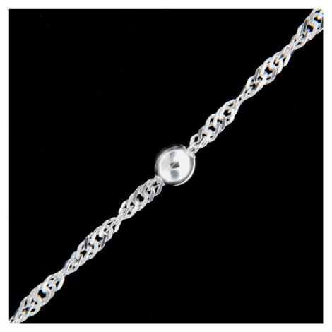 Łańcuszek srebrny 16016