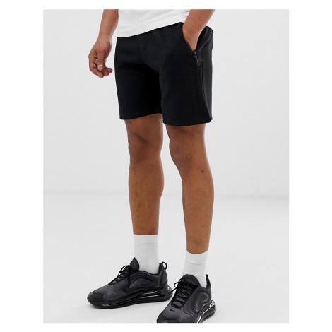 Pull&Bear jogger shorts in black Pull & Bear