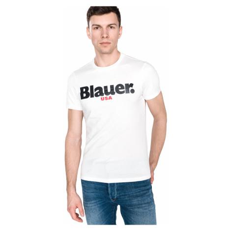 Blauer Koszulka Biały