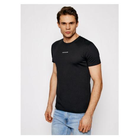 Calvin Klein Jeans T-Shirt J30J318067 Czarny Slim Fit