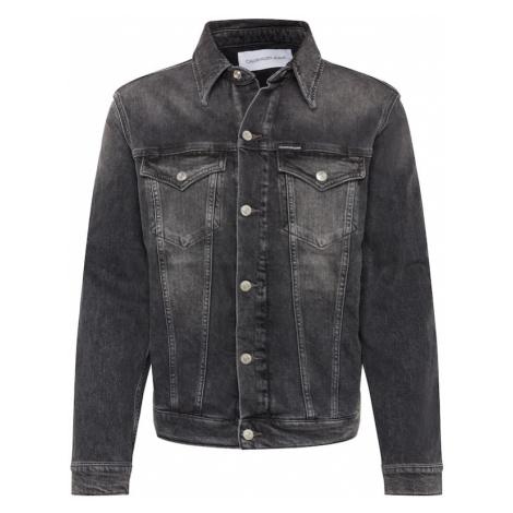 Calvin Klein Jeans Kurtka przejściowa 'FOUNDATION' szary denim