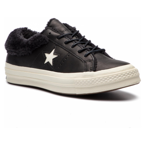 Tenisówki CONVERSE - One Star Ox 162601C Black/Black/Egret