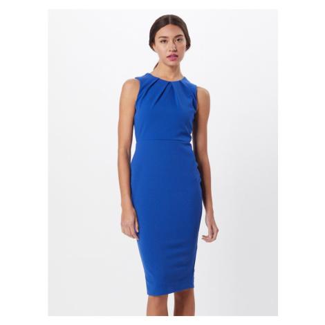 Boohoo Sukienka koktajlowa 'Sleeveless Midi Dress' niebieski / szafir