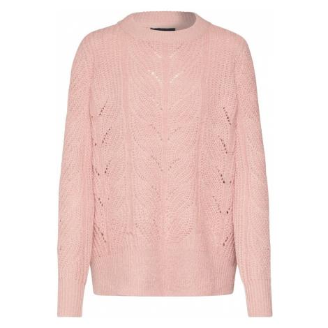 OBJECT Sweter 'OBJNOVA STELLA' różowy pudrowy