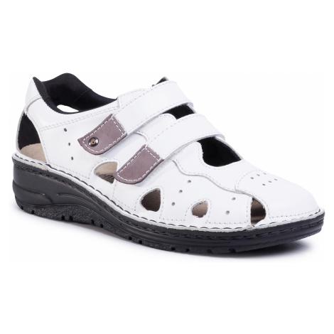 Sandały BERKEMANN - Larena 03100 Weiss 101