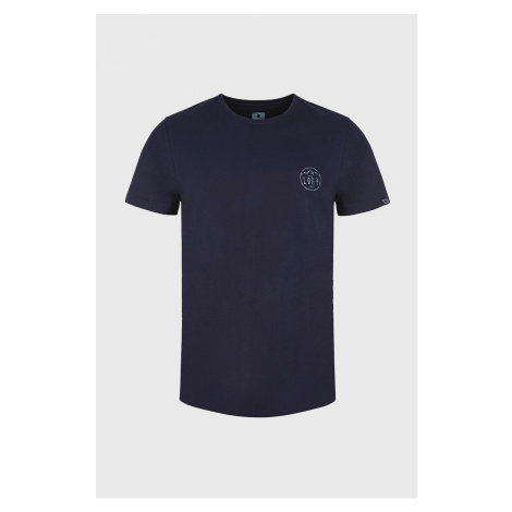 Granatowy T-shirt LOAP Antti