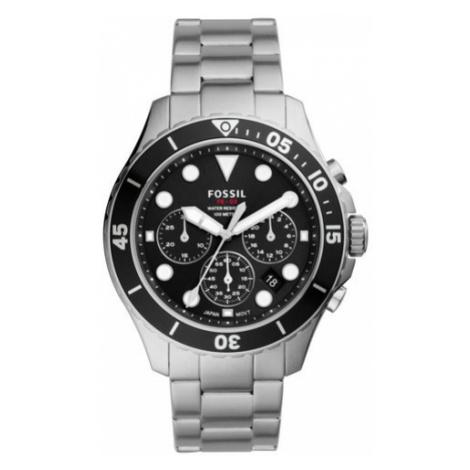 Fossil Smartwatch FB-03 Chronograph FS5725 Srebrny