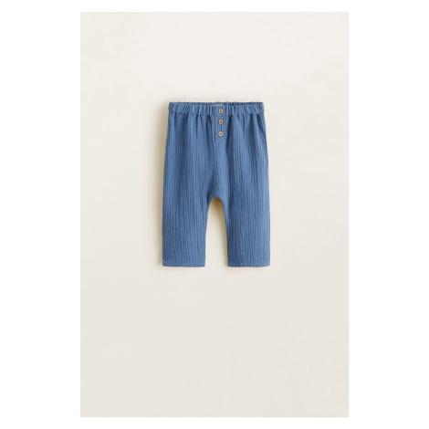 Mango Kids - Spodnie dziecięce Lolo 62-80 cm
