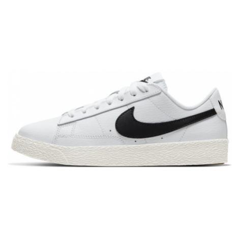 Buty dla dużych dzieci Nike Blazer Low - Biel