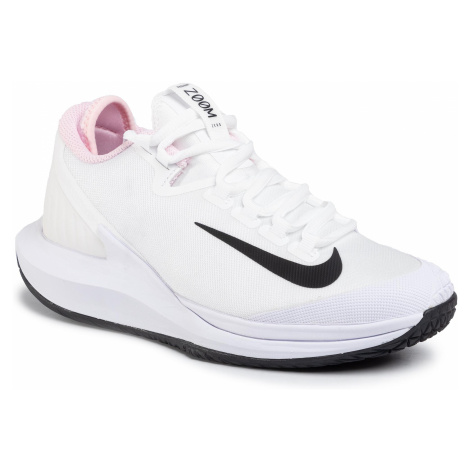 Buty NIKE - Nikecourt Air Zoom Zero Hc AA8022 105 White/Black/Pink Foam