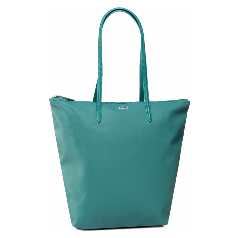 Torebka LACOSTE - Vertical Shopping Bag NF1890PO Green Blue Slate D65