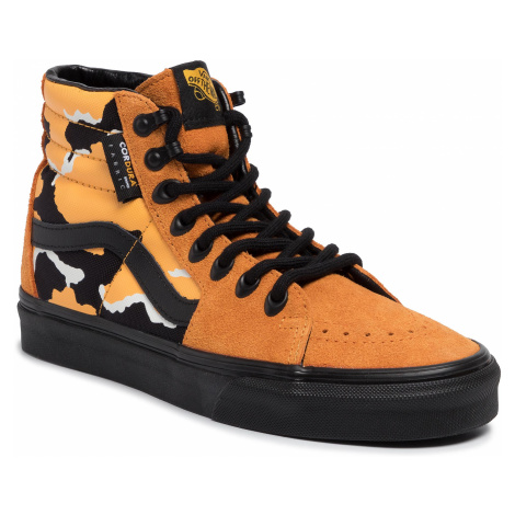 Sneakersy VANS - Sk8-Hi VN0A4BV6XK41 (Cordura)Amberglowcamoblk