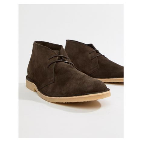 Pier One desert boots in brown suede