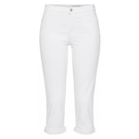 EDC BY ESPRIT Jeansy 'MR Slim Capri' biały
