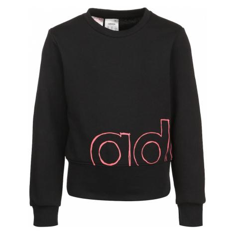 ADIDAS PERFORMANCE Bluzka sportowa czarny / różowy