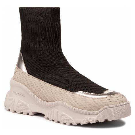 Sneakersy PINKO - Love Trek Boot 1 Al 20-21 PBKSH 1P21Y1 Y6PX Black Z99