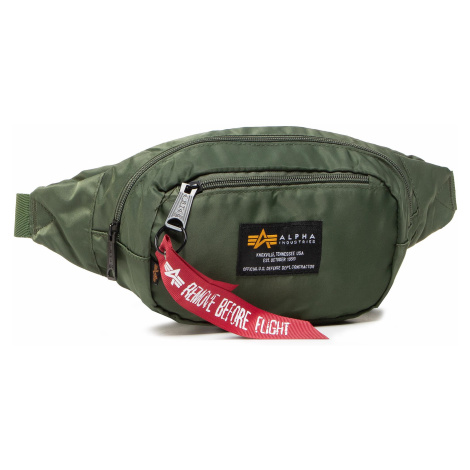 Saszetka nerka ALPHA INDUSTRIES - Crew Waist Bag 196923 Sage/Green 01