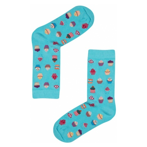 Women's socks John Frank FUN LONG SOCKS
