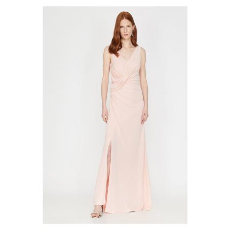 Koton Damska różowa sukienka