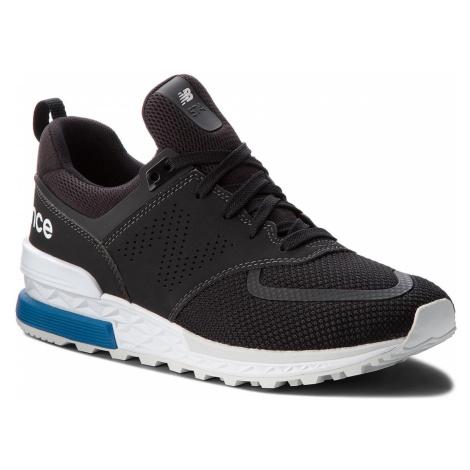 Sneakersy NEW BALANCE - MS574PCB Czarny
