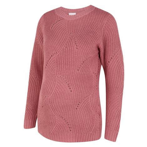 MAMALICIOUS Sweter różowy Mama Licious