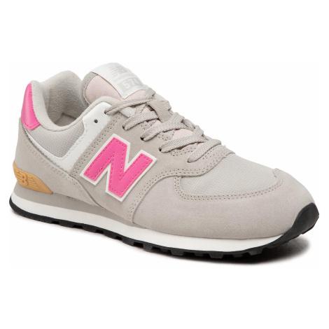 Sneakersy NEW BALANCE - GC574ME2 Szary