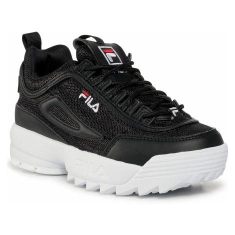 Sneakersy FILA - Disruptor A Kids 1011082.15C Black/Leopard