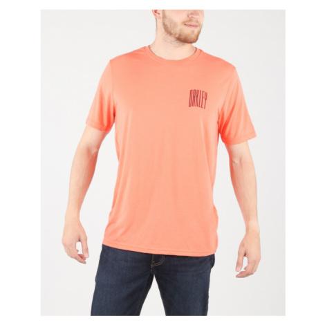 Oakley Koszulka Pomarańczowy
