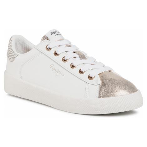 Sneakersy PEPE JEANS - Kioto Top PLS31048 Gold 099