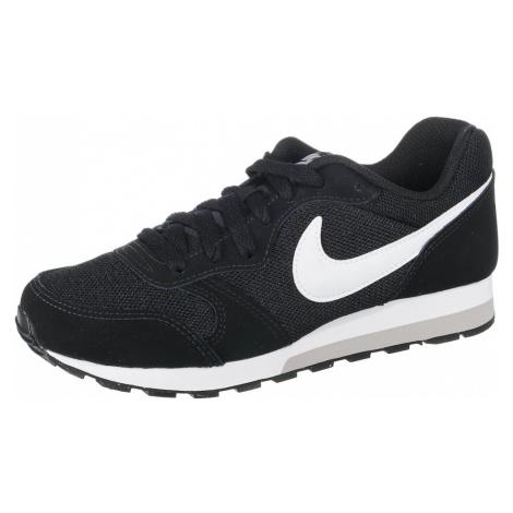 Nike Sportswear Trampki 'MD Runner 2' czarny / biały