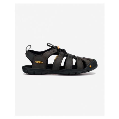 Keen Clearwater CNX Leather Sandały Czarny