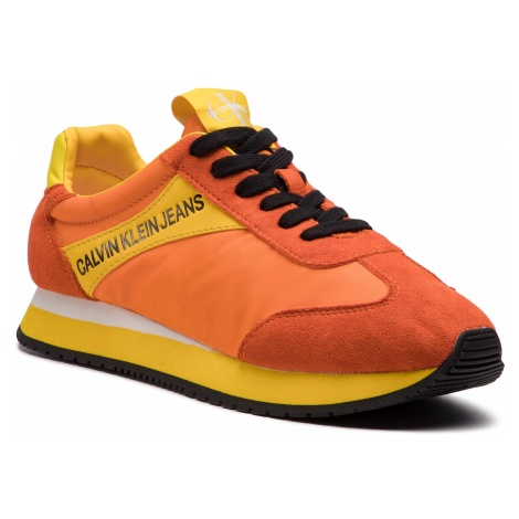 Sneakersy CALVIN KLEIN JEANS - Jerrold S0615 Multi Orange