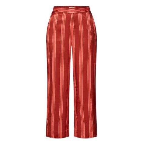 SOAKED IN LUXURY Spodnie 'Salma' łososiowy / pomarańczowo-czerwony