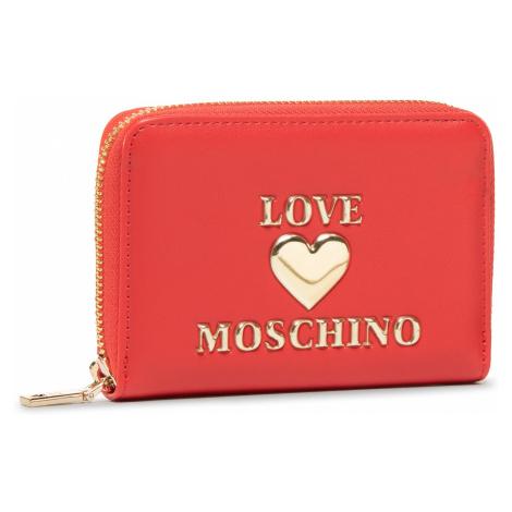 Duży Portfel Damski LOVE MOSCHINO - JC5610PP0BLE0500 Rosso