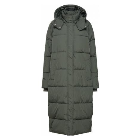 Mbym Płaszcz zimowy 'Ela Slit' khaki