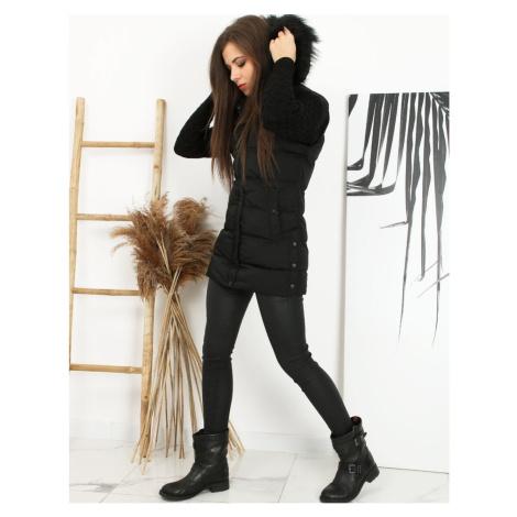 Women's quilted NERA vest black TY1597 DStreet