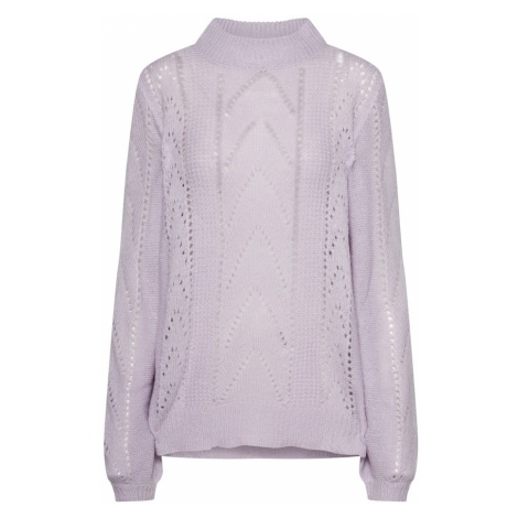 VILA Sweter liliowy