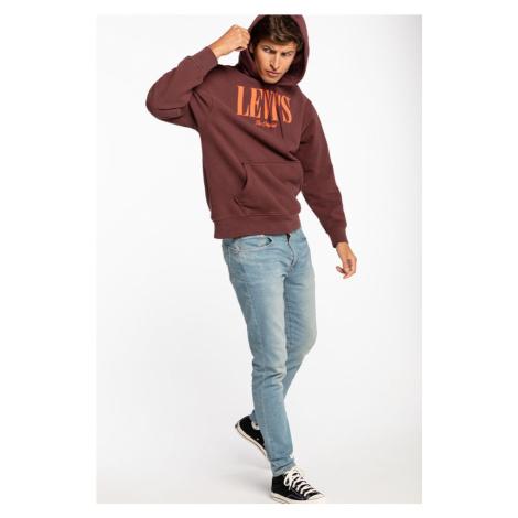 Bluza Levi's Sweatshirts 38479-0003 Burgundy/orange Levi´s