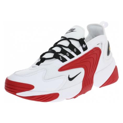 Nike Sportswear Trampki niskie 'Nike Zoom 2K' czerwony / biały